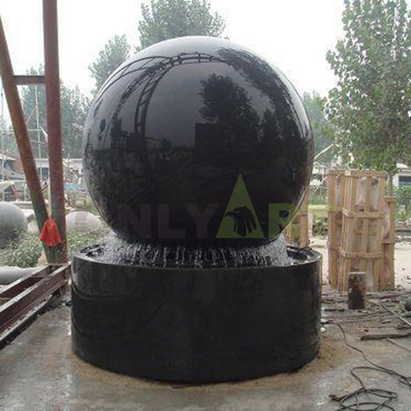 Stone Fengshui Sphere Floating Ball Fountain For Sales