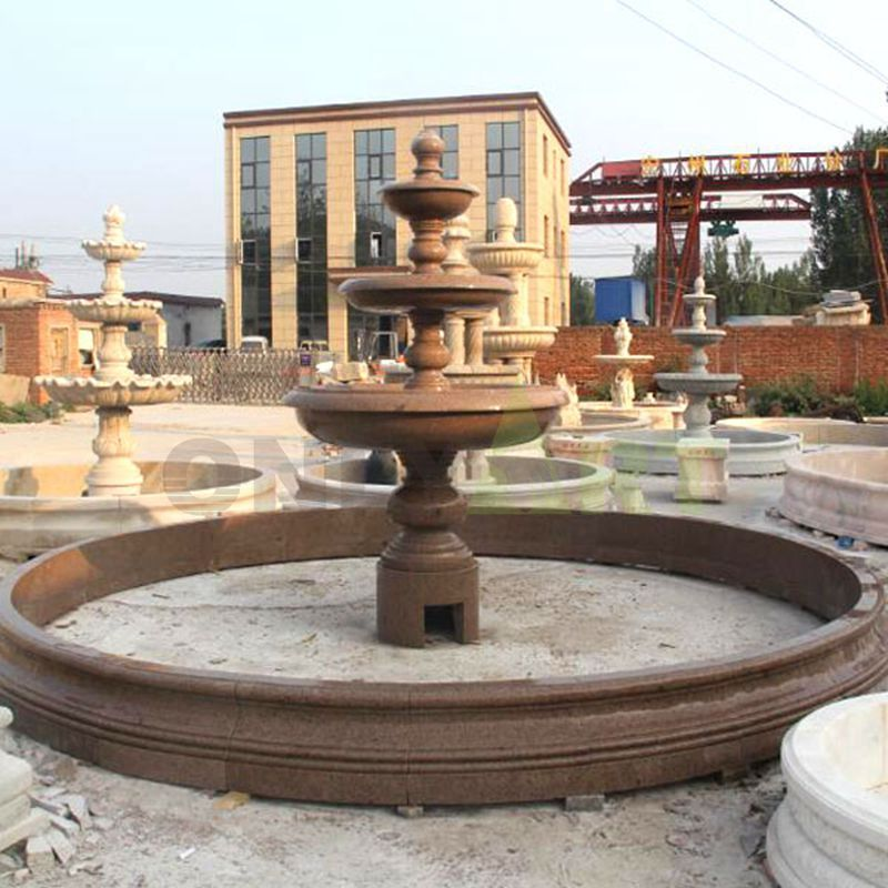 Hot Sale Stone Marble Home Decoration Water Fountain