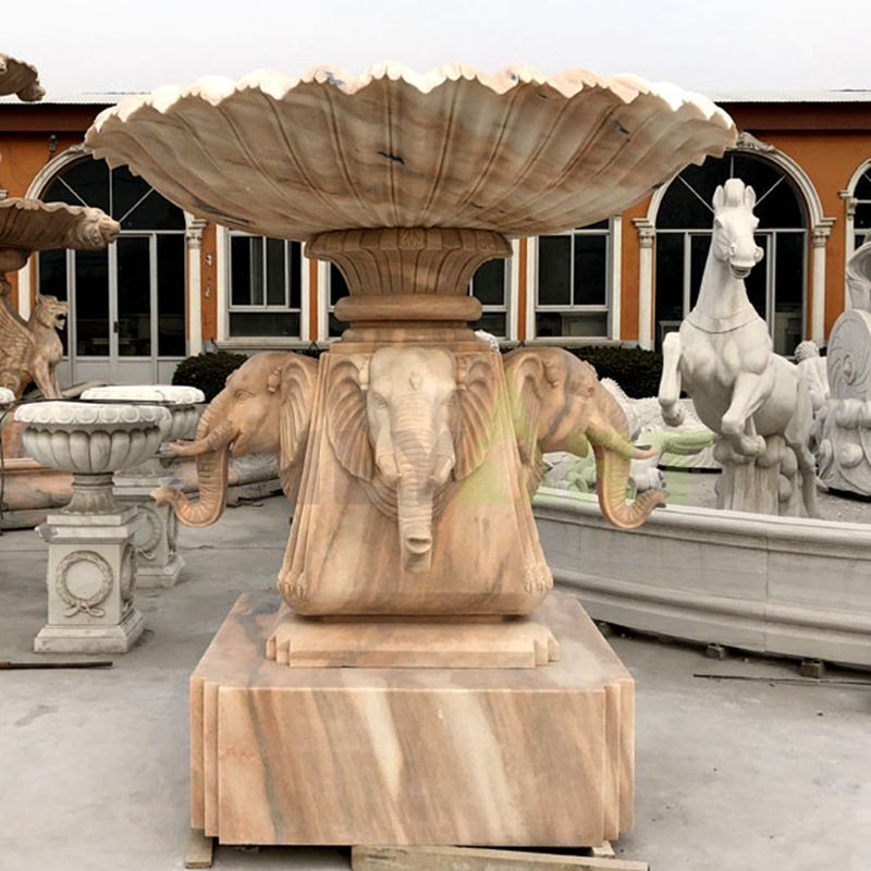 Outdoor Decoration Garden Large Marble Stone Water Fountains
