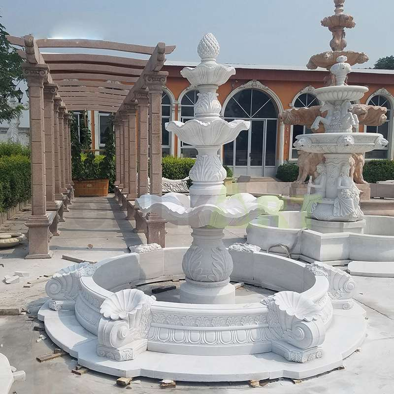 Modern Large Type Nature Stone Used Garden Fountains