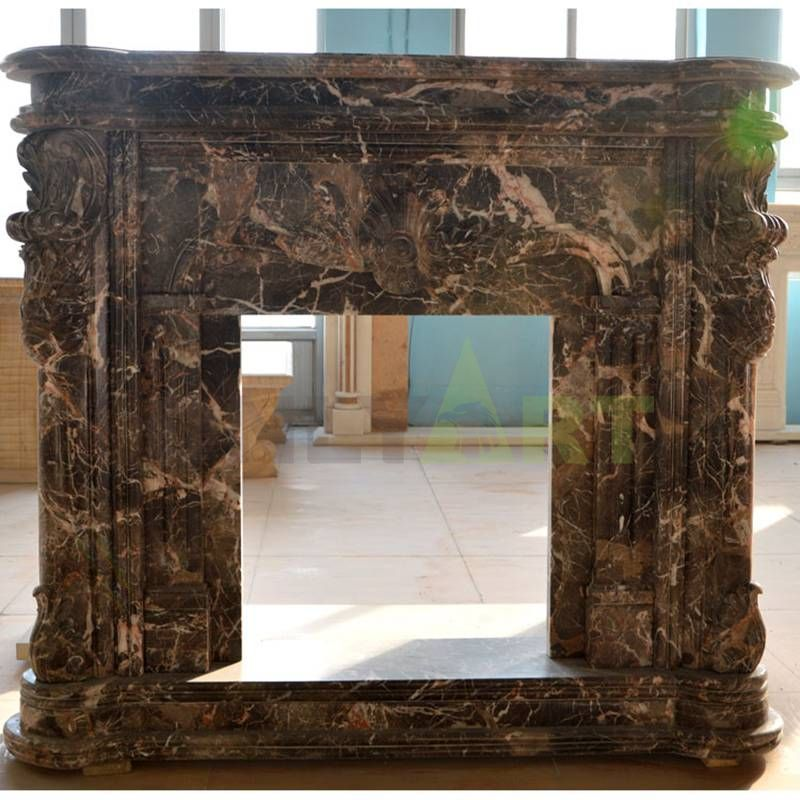 Factory Hot Selling Marble Stone Fireplace Mentel For Indoor