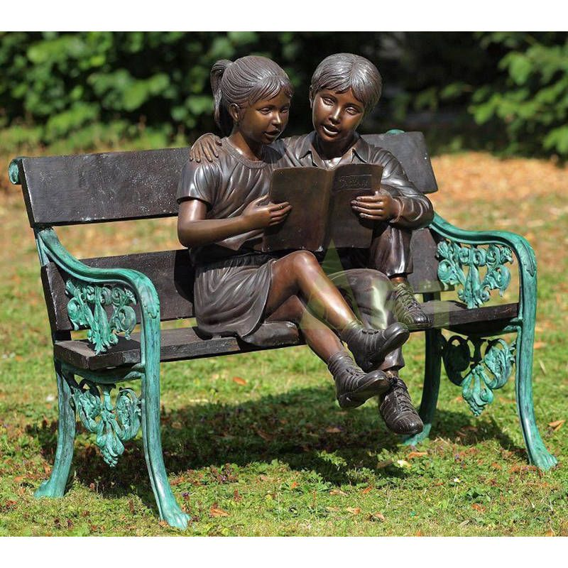 The stuff in the book is so interesting, the children's sculpture