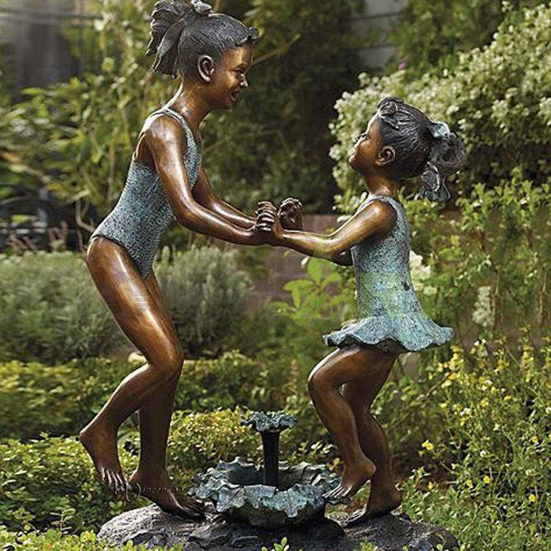 I want to dance with you, child sculpture