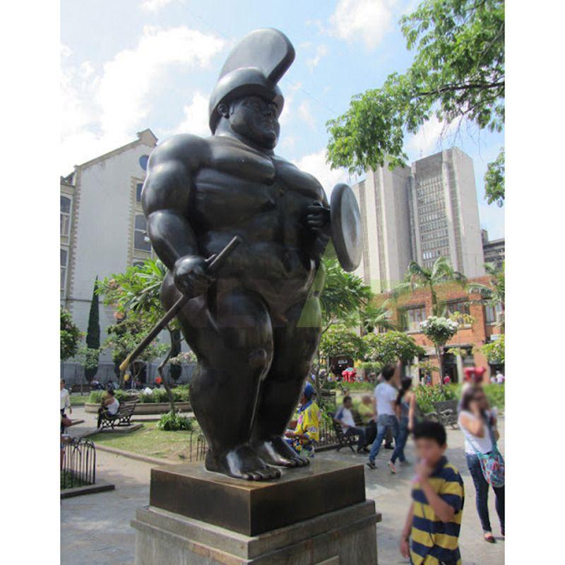 The Roman soldier by Fernando Botero