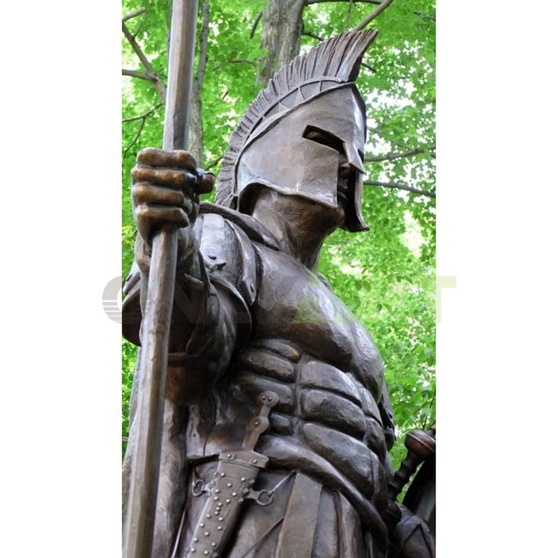 Statues of Roman soldiers like real people