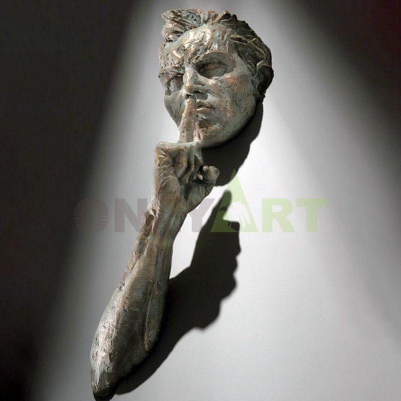 Don't talk gestures  matteo pugliese sculpture