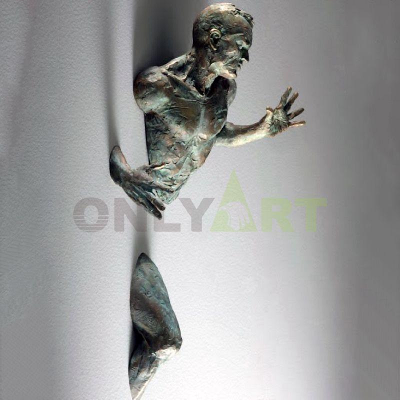 Metal garden yard abstract bronze art matteo pugliese sculpture for sale