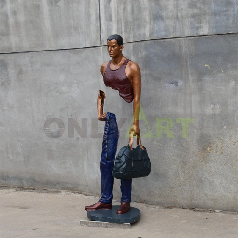 Don't blindly compare yourself to others. You may be better off  bruno catalano sculpture