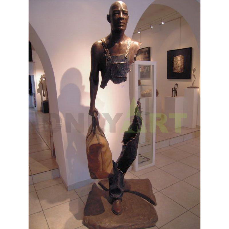 Interior gallery art sculpture bruno catalano sculpture