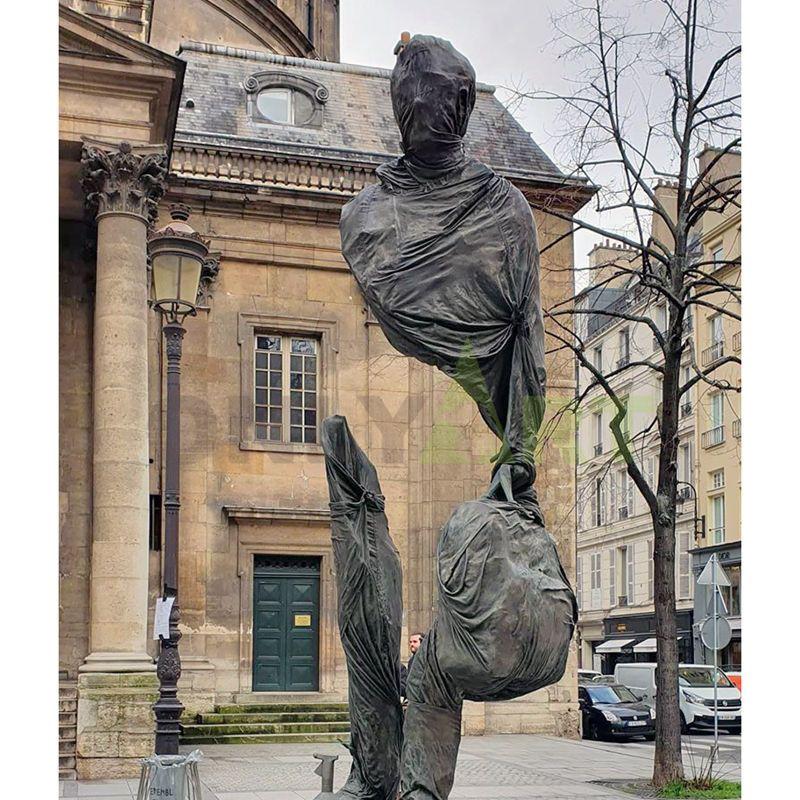 Heavy traveller bruno catalano sculpture