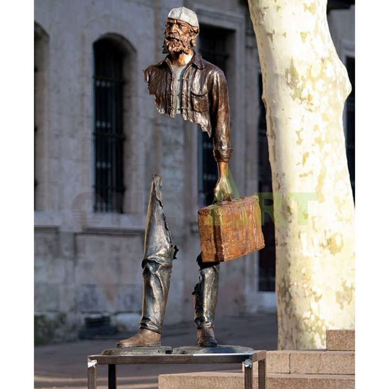 The man with the Suitcase - designed by Bruno Catrano