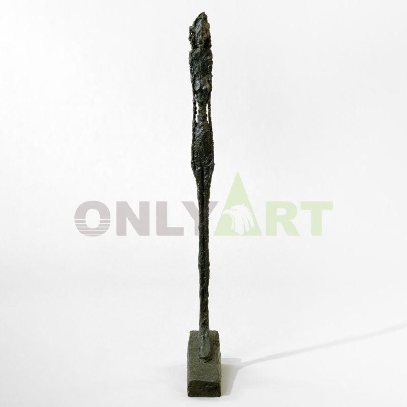 Frail floating human form - Alberto Giacometti