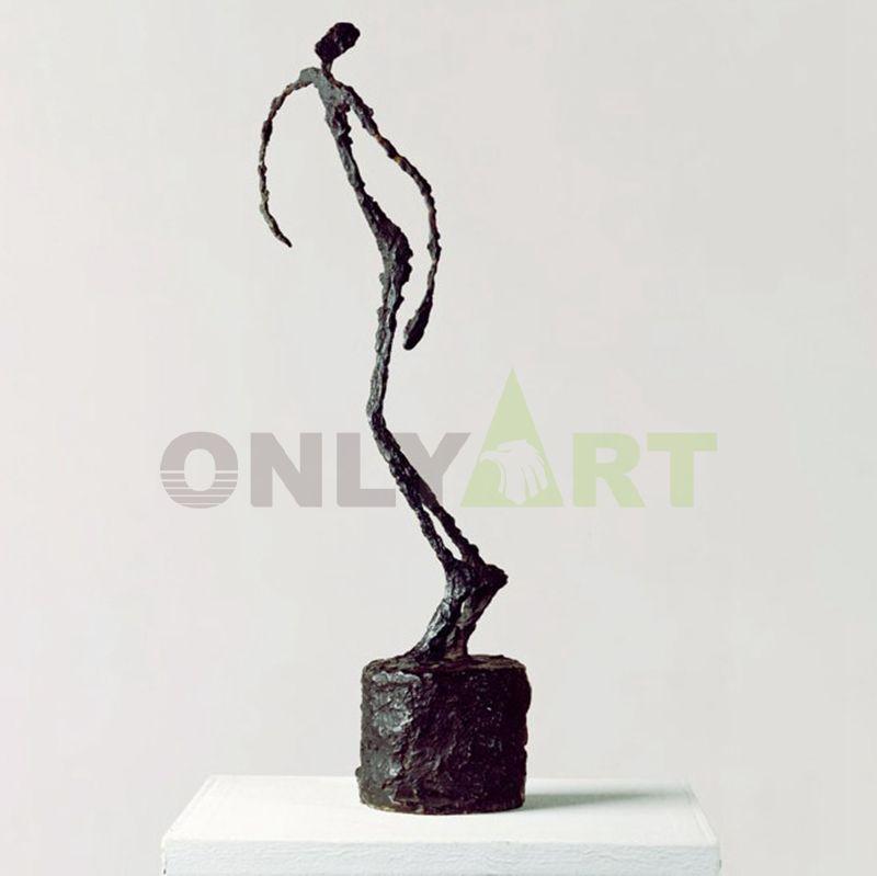 A person who dances like a dancer alberto giacometti sculture