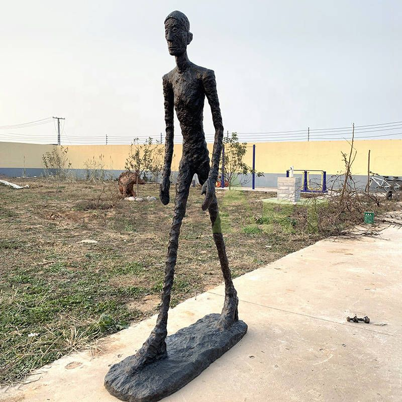 Alberto Giacometti's sculpture of an elderly man walking for sale