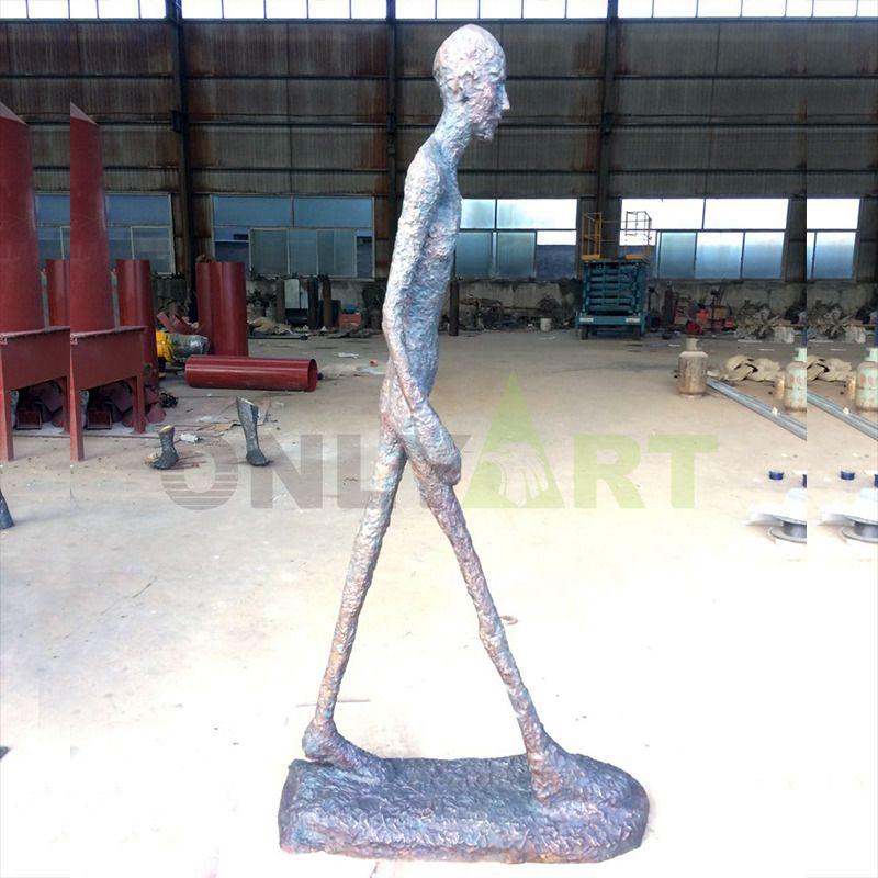Alberto Giacometti's sculpture of a striding man for sale