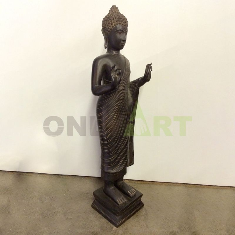 Female buddhas standing indoors are for sale
