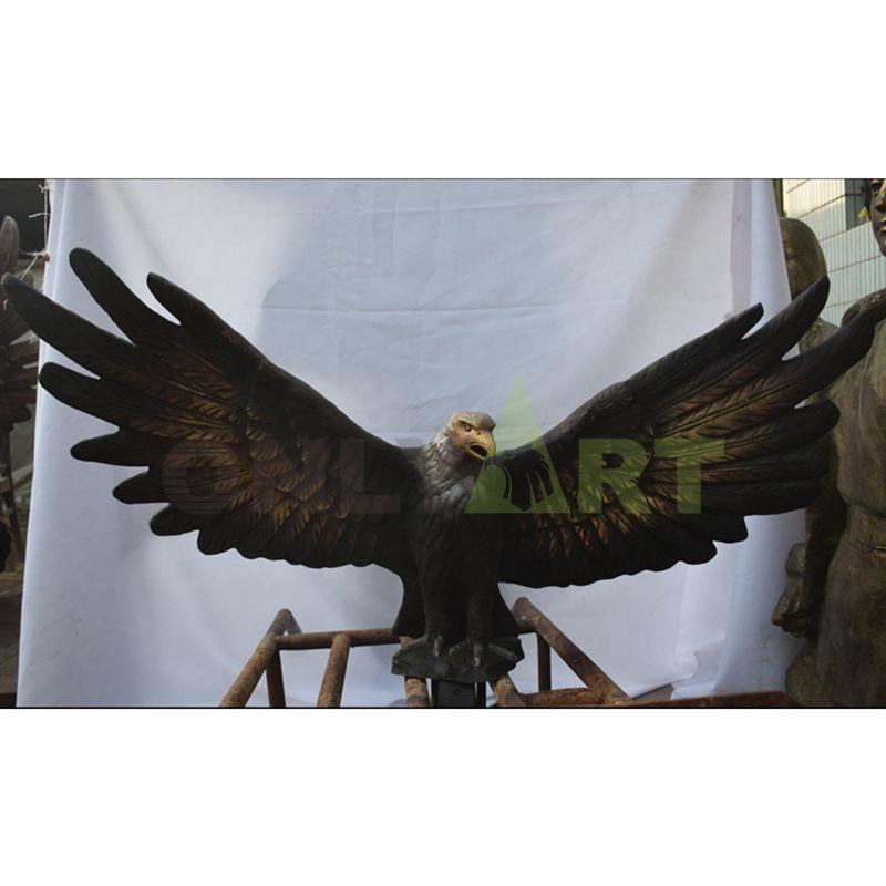 High quality high quality materials pure handmade eagle sculpture