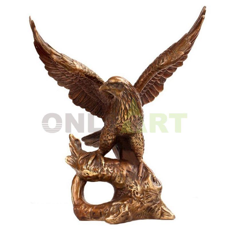 Large Decoration Bronze Eagle Sculpture
