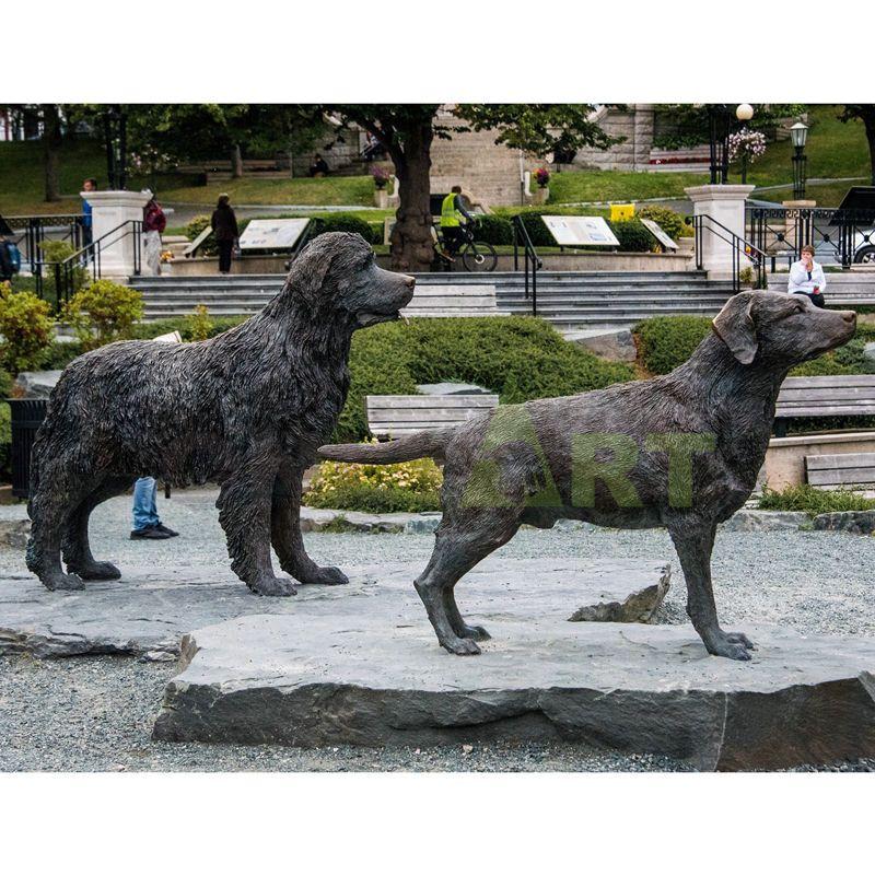 High Quality Bronze Life Size Greyhound Sculpture Bronze Dog Supplie