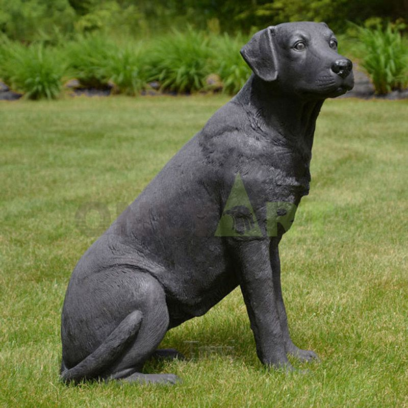 Bronze Gifts Weimaraner Bronze Dog Sculpture
