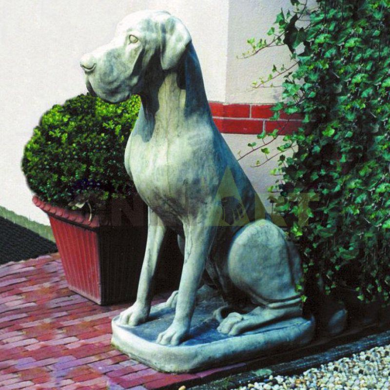 Worth Point Great Dane Dog Garden Ornament