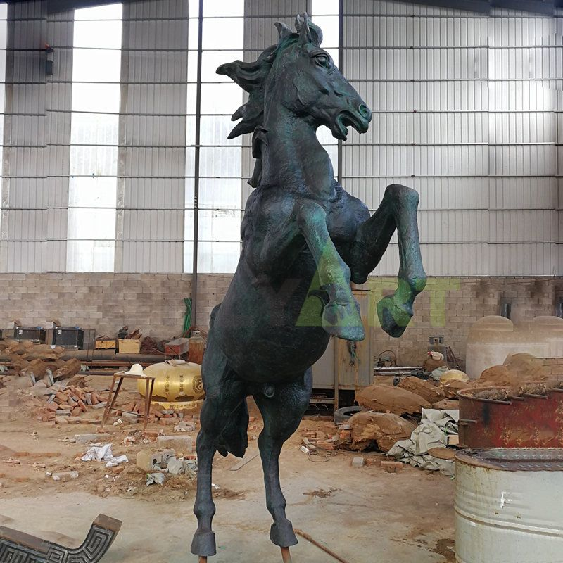 Hot Sale Large Decoration Animal Sculpture Running Horse Bronze Sculpture