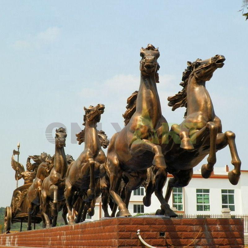 Popular Designs arabian Horse Iron Sculpture with high quality MetalIron