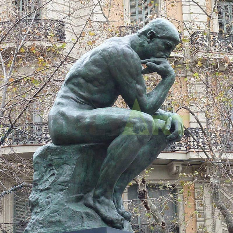 Hot Sale World Famous Bronze The Thinker Sculpture for sale