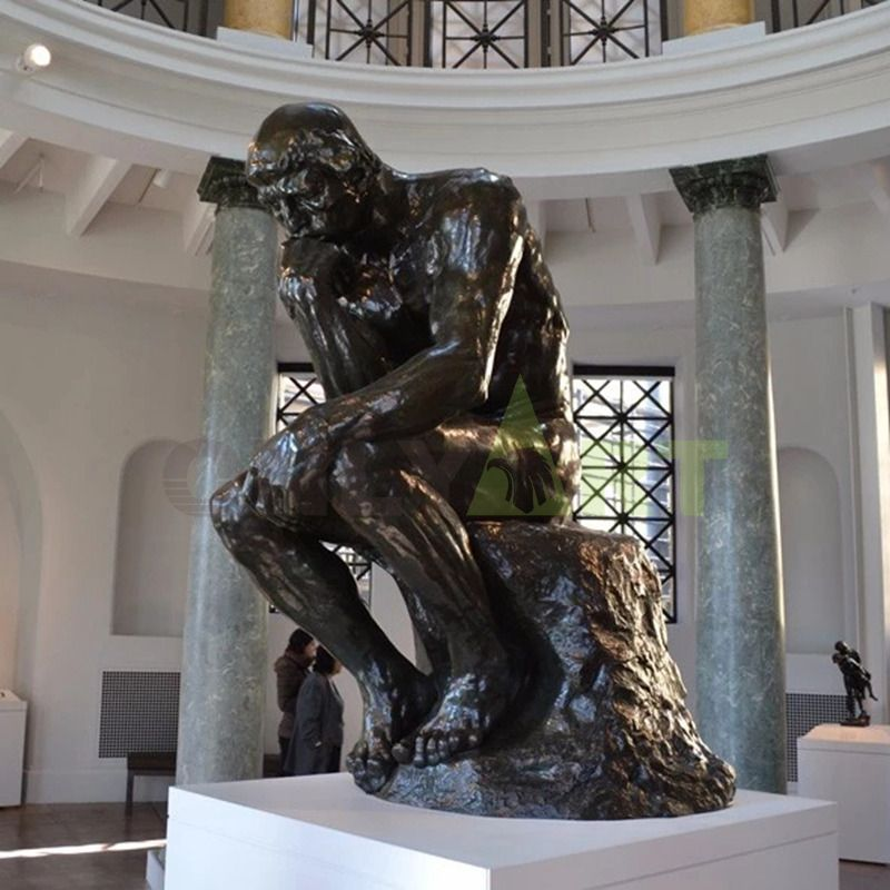 Rodin: The Thinker bronze sculpture is for sale