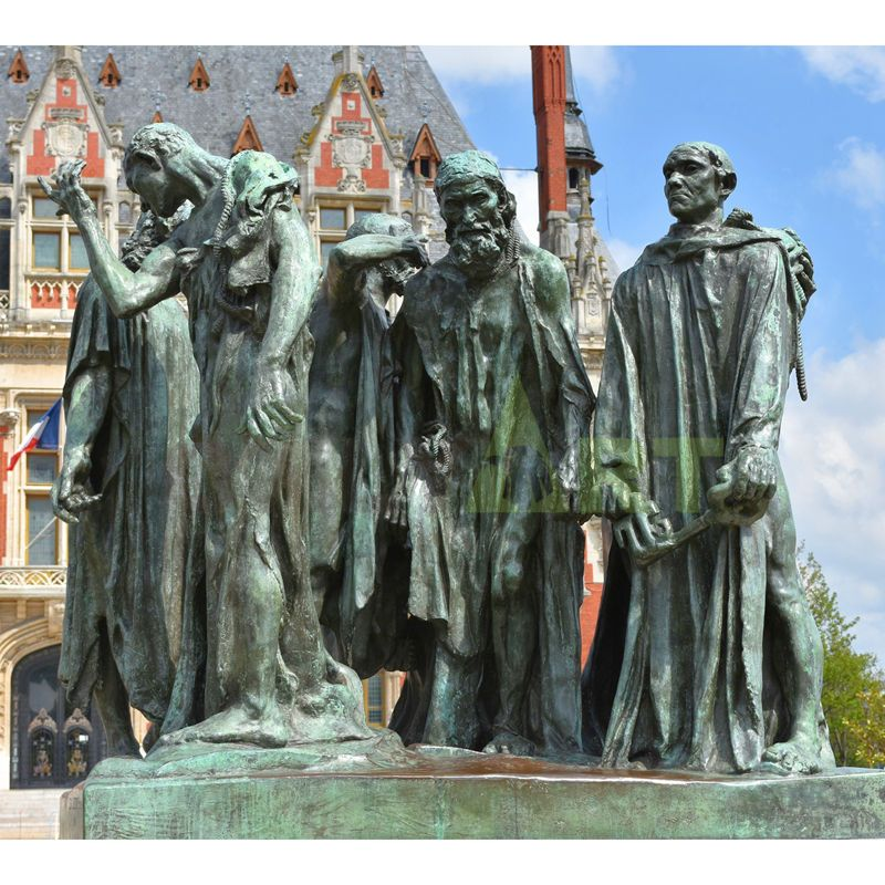 Bronze The Burghers of Calais Sculpture by Auguste Rodin