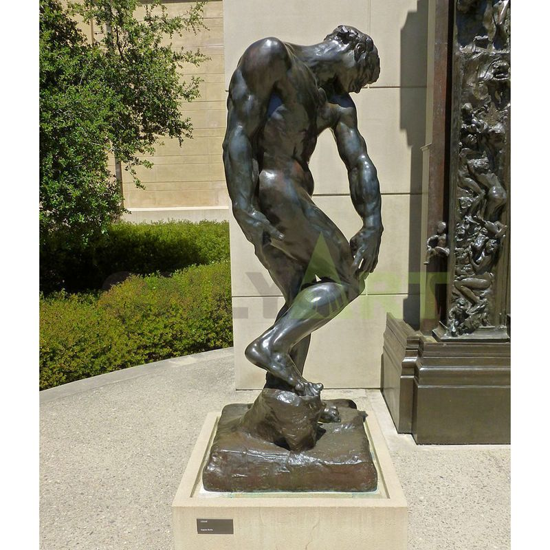 Life Size The Age Of Bronze Auguste Rodin