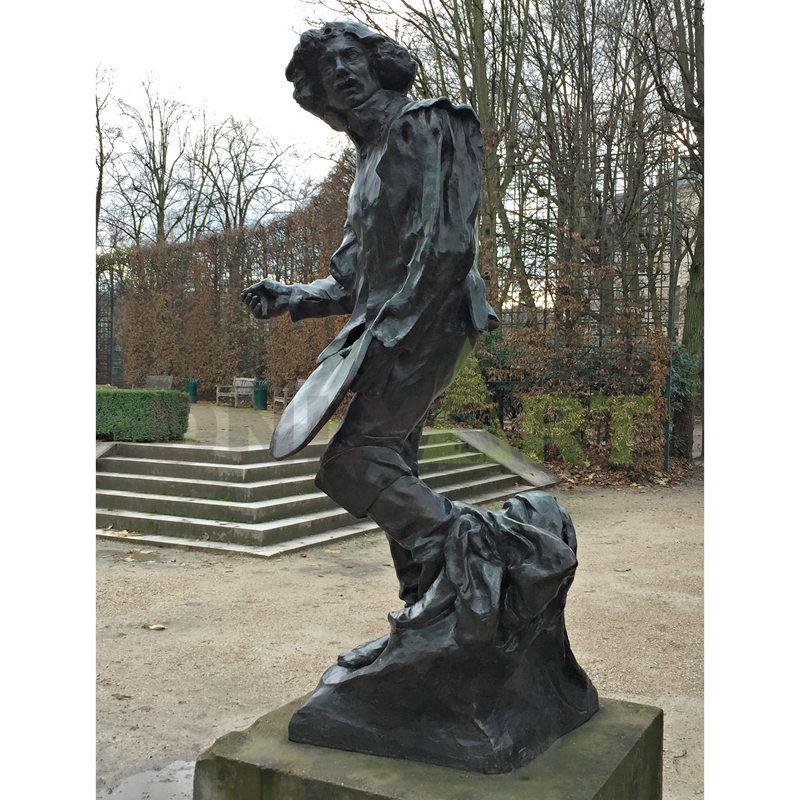 Rodin's Masterpiece Bronze Sculpture Artist work replicated sculpture