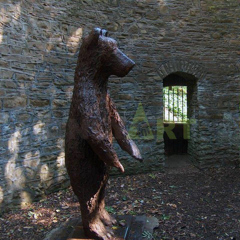 Customized Sculpture Bear Animal Statue for Garden
