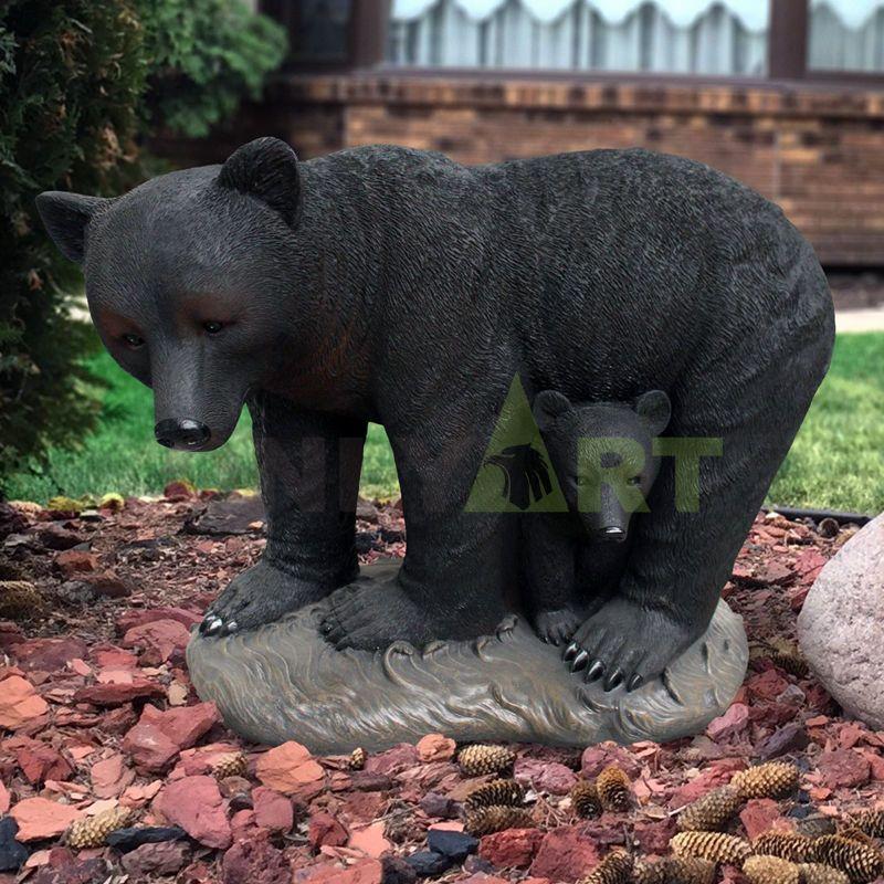 Modern Art Bronze Animal Sculpture Bronze Bear Statue