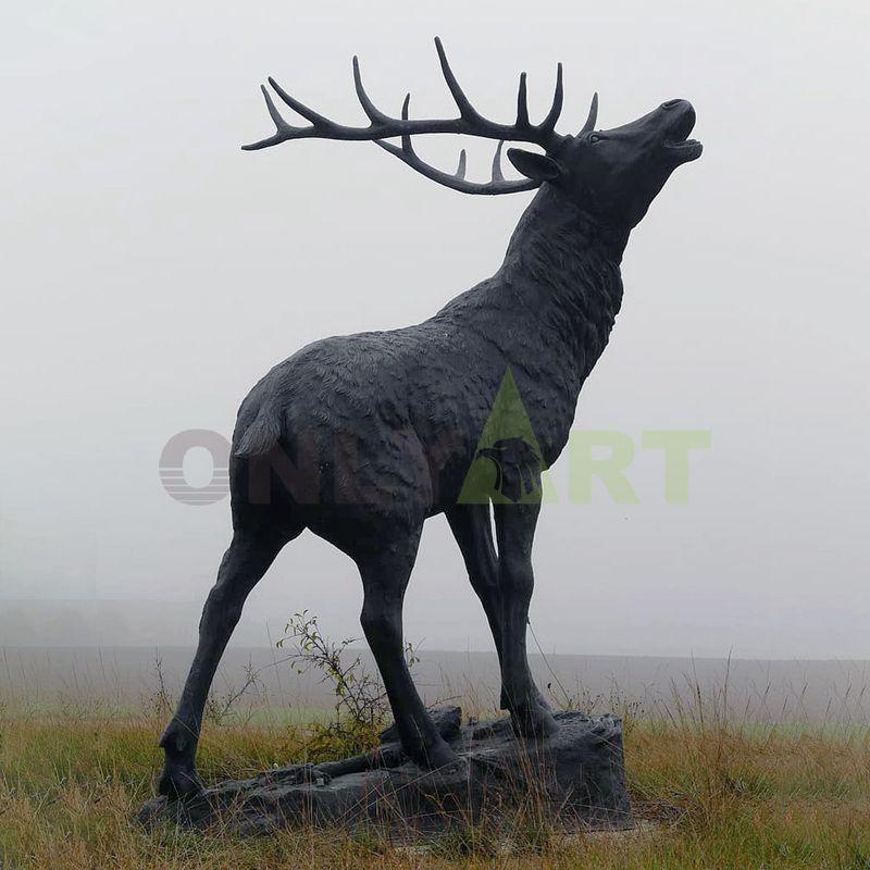 Life Size bronze metal giraffe outdoor animal statue for sale sculpture