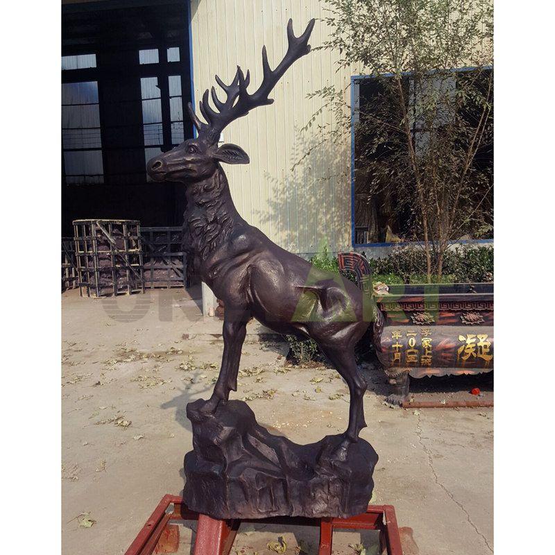 Outdoor Garden Decorative Sika Deer Statues