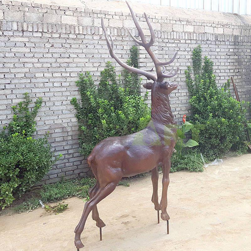 Best and Cheaper Deer Bronze Garden Sculpture