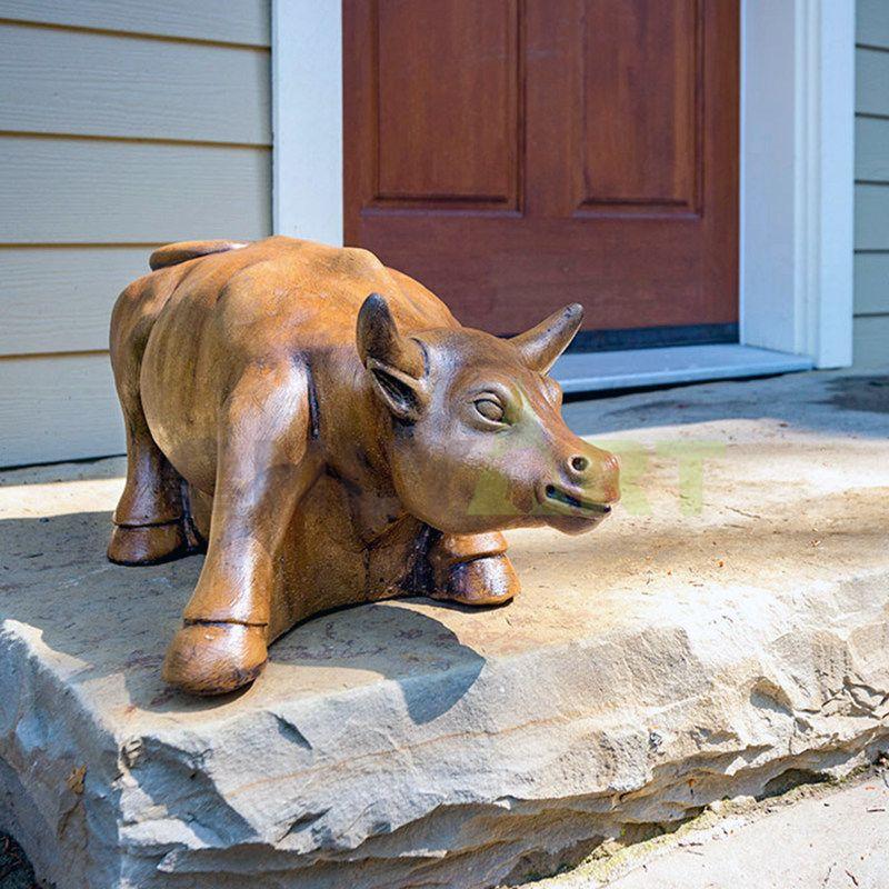 Wholesale Brass Bull Statue Art Deco Ox Statue