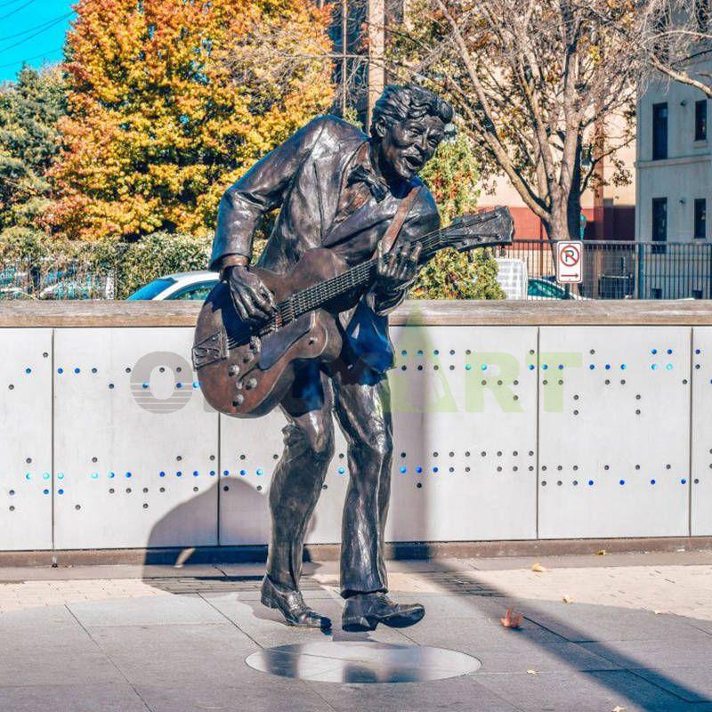 material human sculpture shape design musician abstract statue