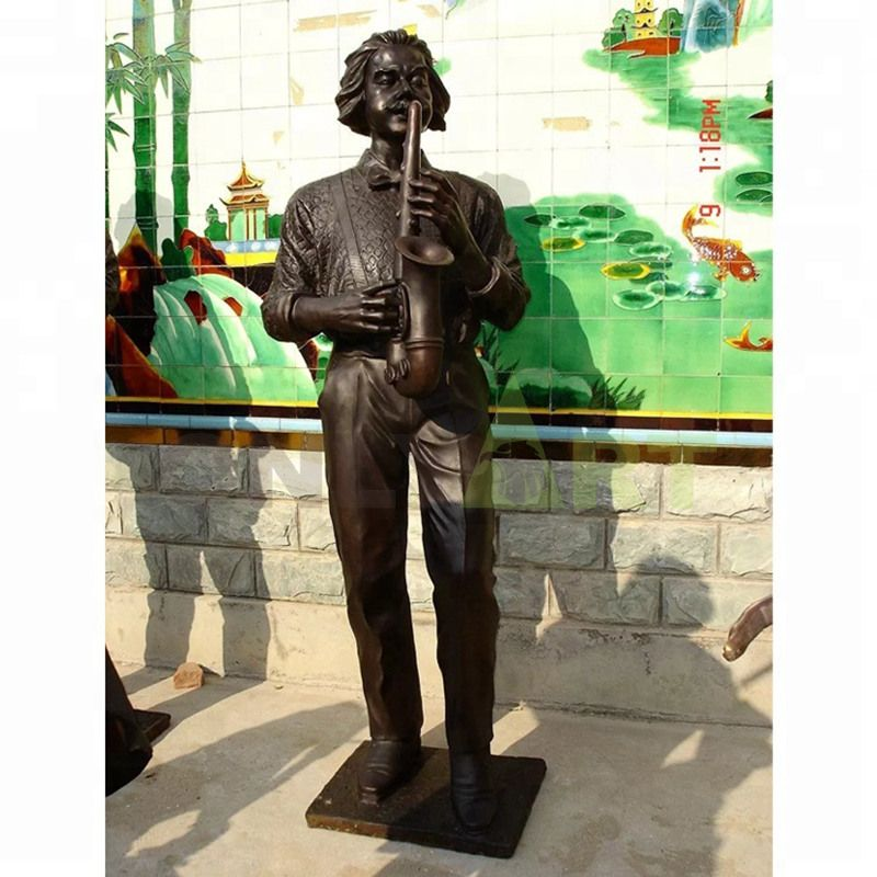 Figurine Manufacturers Musician and Guitar Statue