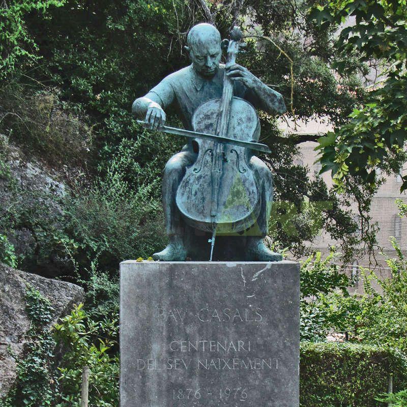 Custom modern statue art abstract outdoor bronze cast sculptures