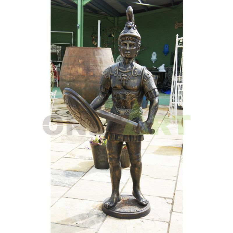 Not far away was a well-dressed Roman soldier