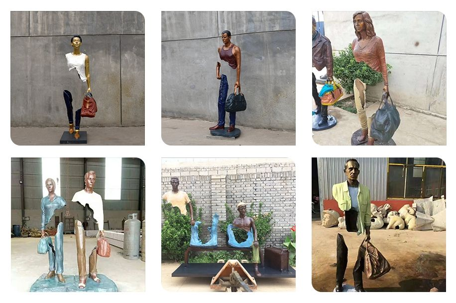 Soul and my journey bruno catalano sculpture