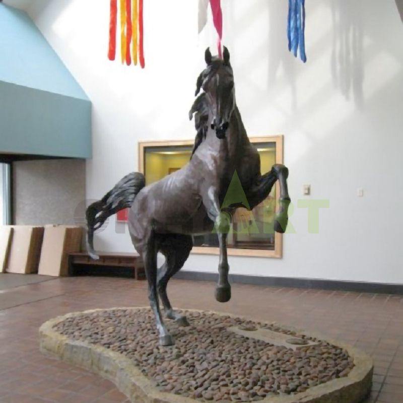 horse sculptures home decor